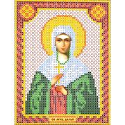Набор для вышивания бисером Наследие НДА5-068 «Св. Дарья» 12*16 см