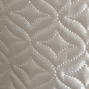 Стеганая подкладочная ткань термостежка «венеция» малая, атлас св.бежевый