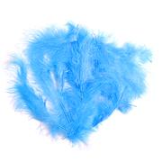 Перья марабу (уп. 15 шт.) голубой