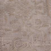 Ткань подкл. поливискон, вискоза 47%; п/э 53% жаккард (шир. 150 см) T930/03 т.-бежевый