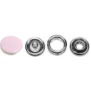 Кнопки «BABY»  9,5 мм (шляпка цветная) (уп. 1440 шт.) розовый