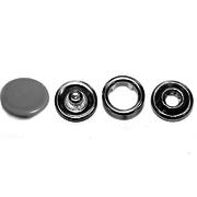 Кнопки «BABY»  9,5 мм (шляпка цветная) (уп. 1440 шт.) серый