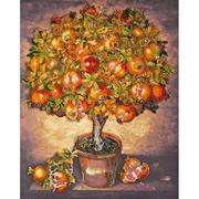 Набор для вышивания бисером Абрис АВ-475 «Гранатовое дерево» 31*39 см