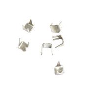 Ограничитель для витых молний верхний, никель уп.20 шт. 111431