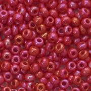 Бисер Preciosa Чехия (уп. 5 г) 94190 красный радужный