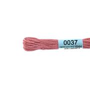 Мулине х/б 8 м Гамма, 0037 розово-сиреневый