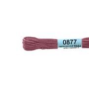 Мулине х/б 8 м Гамма, 0877 гр.-розовый