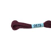 Мулине х/б 8 м Гамма, 0879 коричнево-розовый