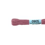 Мулине х/б 8 м Гамма, 0905 ярко-розовый