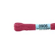 Мулине х/б 8 м Гамма, 0906 ярко-розовый