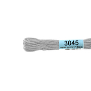 Мулине х/б 8 м Гамма, 3045 серый