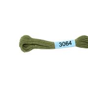 Мулине х/б 8 м Гамма, 3064 оливковый