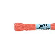 Мулине х/б 8 м Гамма, 3075 ярко-розовый