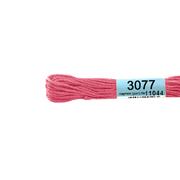 Мулине х/б 8 м Гамма, 3077 розовый