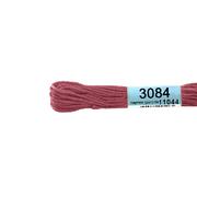 Мулине х/б 8 м Гамма, 3084 грязно-розовый