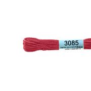 Мулине х/б 8 м Гамма, 3085 т.-розовый