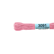 Мулине х/б 8 м Гамма, 3091 св.-розовый