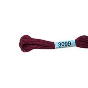 Мулине х/б 8 м Гамма, 3099 грязно-вишневый