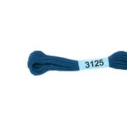 Мулине х/б 8 м Гамма, 3125 св.-синий