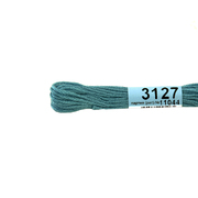 Мулине х/б 8 м Гамма, 3127 голубой