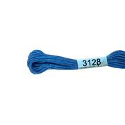 Мулине х/б 8 м Гамма, 3128 св.-синий