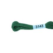 Мулине х/б 8 м Гамма, 3143 серо-зеленый