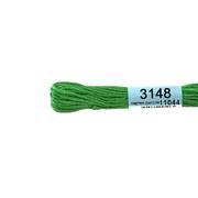 Мулине х/б 8 м Гамма, 3148 св.-зеленый