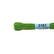 Мулине х/б 8 м Гамма, 3161 св.-зеленый
