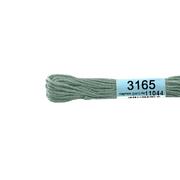 Мулине х/б 8 м Гамма, 3165 св.-серый