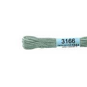 Мулине х/б 8 м Гамма, 3166 гр.-серый