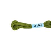 Мулине х/б 8 м Гамма, 3169 св.-зеленый