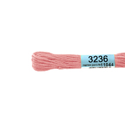 Мулине х/б 8 м Гамма, 3236 розовый