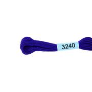 Мулине х/б 8 м Гамма, 3240 св.-синий