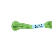 Мулине х/б 8 м Гамма, 3252 св.-зеленый