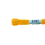 Мулине х/б 8 м Гамма, 5181 ярко-желтый