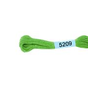 Мулине х/б 8 м Гамма, 5209 св.-зеленый
