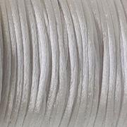 Шнур декор. 2 мм атласный AJD005 белый уп 100 м