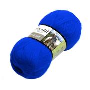 Пряжа Ангора де люкс (Angora De Luxe), 100 г/ 520 м, 03040 т.-голубой