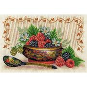 Набор для вышивания Panna НХ-1812 «Садовые ягоды» 30*21 см