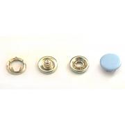 Кнопки «BABY»  9,5 мм (шляпка цветная) (уп. 1440 шт.) голубой