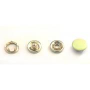 Кнопки «BABY»  9,5 мм (шляпка цветная) (уп. 1440 шт.) желтый