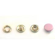 Кнопки «BABY»  9,5 мм (шляпка цветная) (уп. 1440 шт.) сиренев.