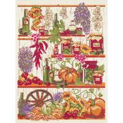 Набор для вышивания Panna КТ-7006 «Кладовая осени» 23*32,5 см