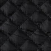 Стеганая ниточная подкладка 170Т большой ромб №5 черный