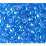 Бисер Preciosa Чехия (уп. 10 г) 61150 т. голубой радужный
