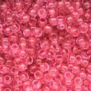 Бисер Preciosa Чехия 10-14гр. 01193 т.розовый