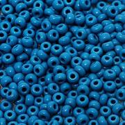 Бисер Preciosa Чехия 10-14гр. 33220 т.голубой
