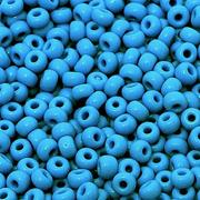 Бисер Preciosa Чехия 10-14гр. 63080 синий