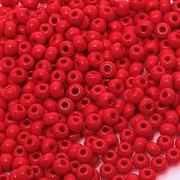 Бисер Preciosa Чехия 10-14гр. 93190 красный