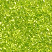 Бисер Preciosa Чехия 10-14гр. 01153 св. зелен. прозрач.